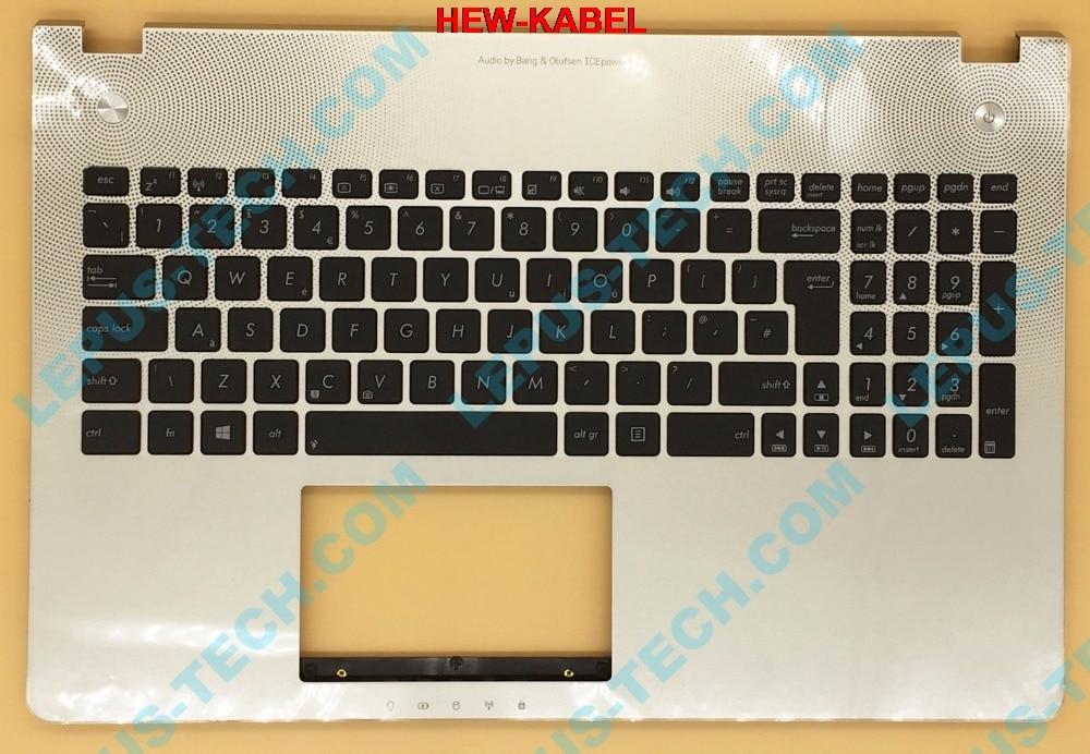 UK US แป้นพิมพ์ภาษาอังกฤษสำหรับ ASUS N56 N56V N56VB N56VJ N56VM N56VV N56VZ ฝาครอบด้านบนกรณีบน 90R N9J1K2080U Silver-ใน คีย์บอร์ดสำหรับเปลี่ยน จาก คอมพิวเตอร์และออฟฟิศ บน AliExpress - 11.11_สิบเอ็ด สิบเอ็ดวันคนโสด 1