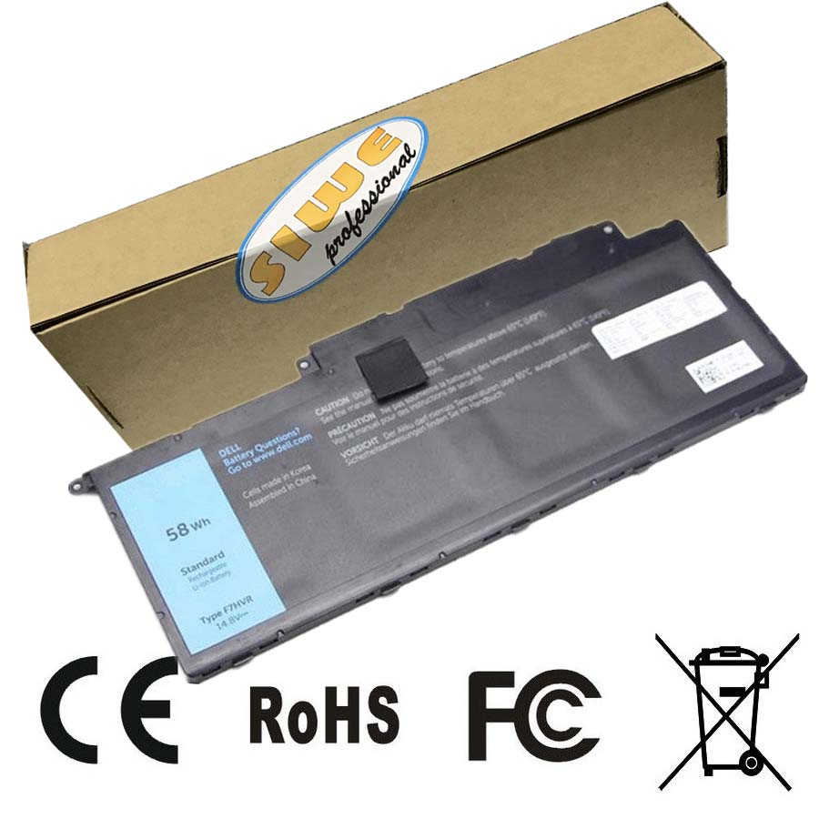 14.8V 58Wh Original  Battery For DELL Inspiron 15-7537 14-7437 17-7737 F7HVR  Free Shipping