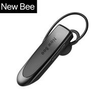 New Bee Hands Free Wireless Bluetooth Earphone Bluetooth Headset Headphone Earbud With Mic Super Capacity Battery