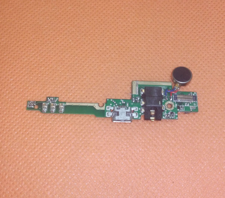 Used Original USB Plug Charge Board For iNew V8 MTK6591 Hexa Core 5.5 motherboard Free shipping