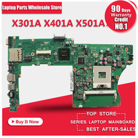 X401A X501A 15 6 Inch Laptop Motherboard For ASUS Tested Ok And Top Quality In Stock