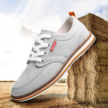 2017 Free shipping canvas shoes male casual new fashion men shoes Breathable Zapatos Hombre Sapato Masculino shoes large size