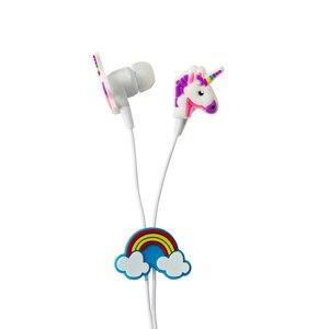 Image 5 - Qearfun Kleurrijke Eenhoorn Bedrade Hoofdtelefoon Kinderen Muziek Stereo Oordopjes 3.5 Mm Koptelefoon Voor Sony Samsung Kerstcadeau Oortelefoon
