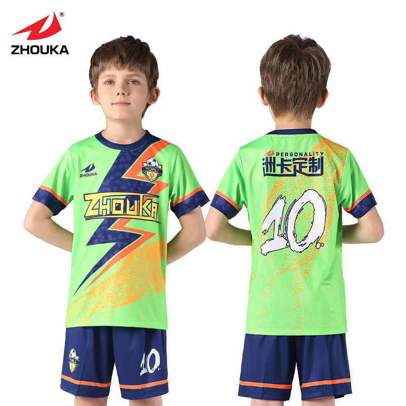 d0e503899ae 2018 2019 Soccer Jerseys kids sets Football Uniform For boys Can Custom  Name Number Sublimation maillot