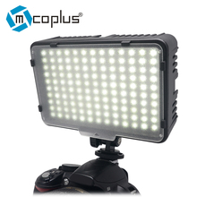 Mcoplus 130 led luz de vídeo para canon nikon sony pentax olympus panasonic samsung & dv câmera filmadora vs cn-126