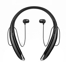 New Bluetooth Magnetic Headset Neck Hanging Long Standby Stereo Handfree Neckban