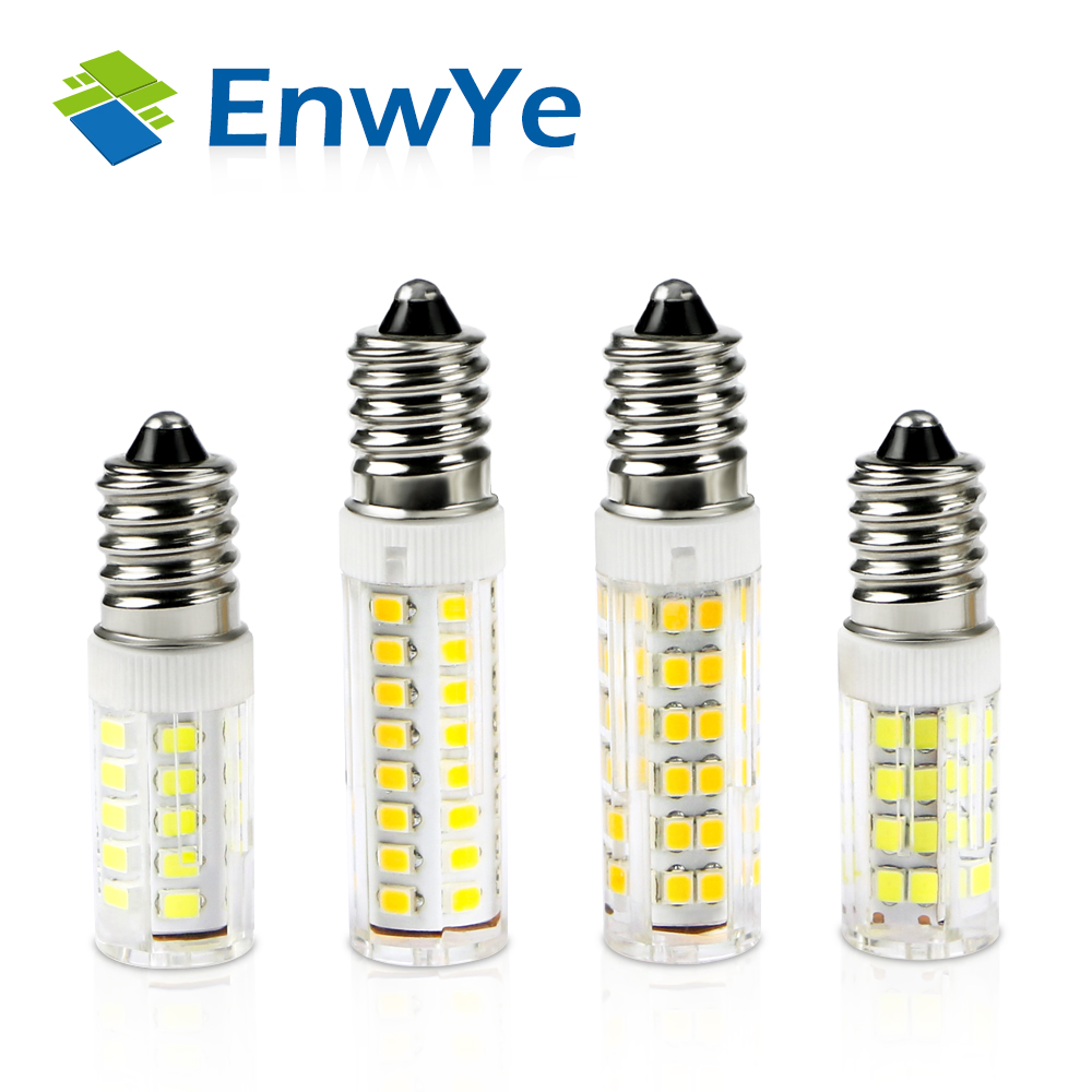 EnwYe 10pcs LED E14 Lamp Bulb 360 degrees 220V 5W 8W 9W 12W 2835 SMD LED Lighting Lights replace Halogen Spotlight Chandelier led smart emergency lamp led bulb led e27 bulb lights light bulb energy saving 5w 7w 9w after power failure automatic lighting