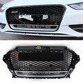 A3 RS3 Стиль ABS Авто Передняя Решетка сетки Гриль с hole камеры Для Audi A3 S3 RS3 2013-2015