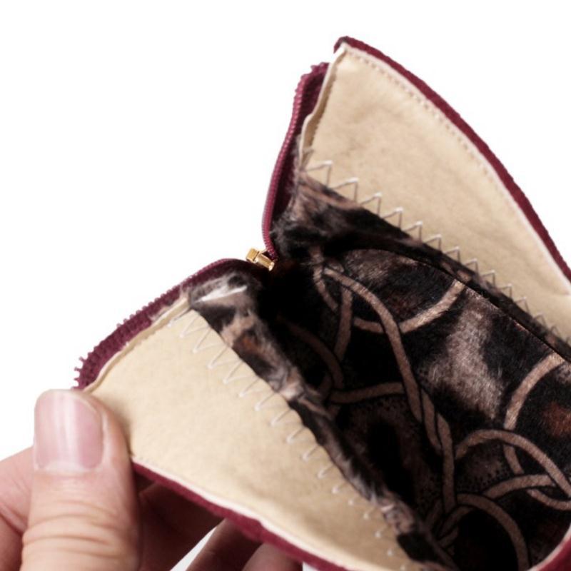 Felpa Jojonunu Botas Zapatos Calientes Calzado Negro vino Tinto Mujeres 45 Mujer Botines Tacón De Alto Invierno Más 32 Zipper Tamaño marfil Moda qwC6x8rzq