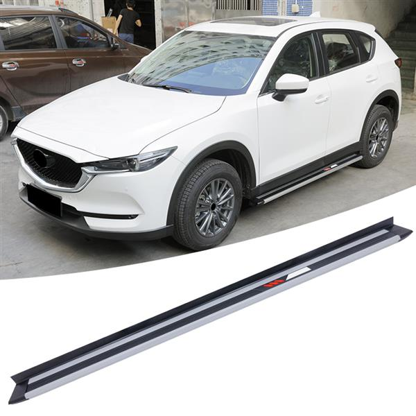 aluminium side step fit for mazda cx 5 cx5 2017 2018 2019 running