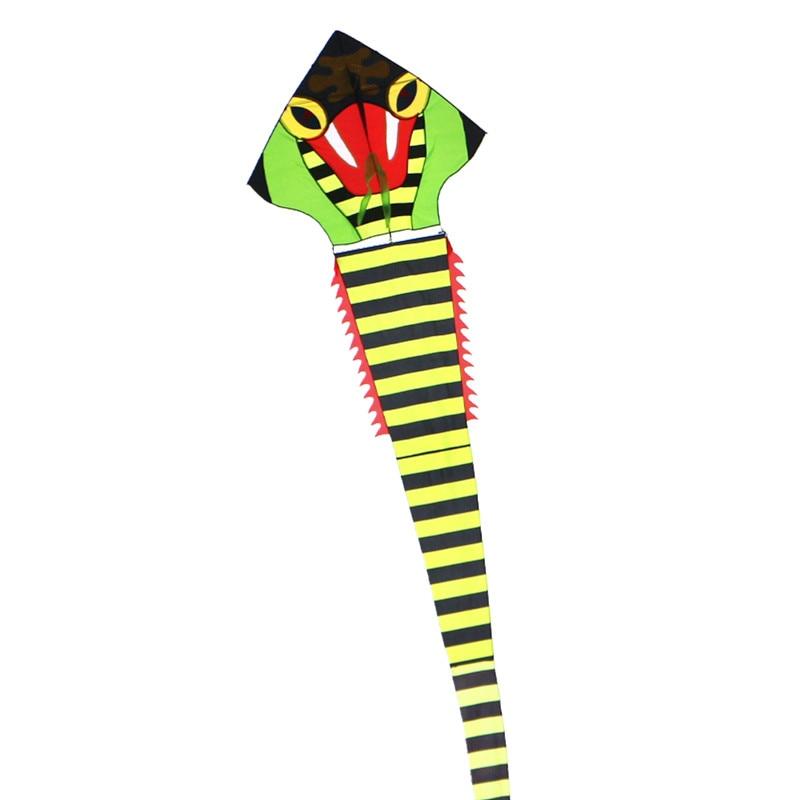 Livraison gratuite haute qualité 40 m cobra cerf-volant avec poignée ligne super serpent cerf-volant cerf-volant entier jouets volants parafoil chinois dragon cerf-volant