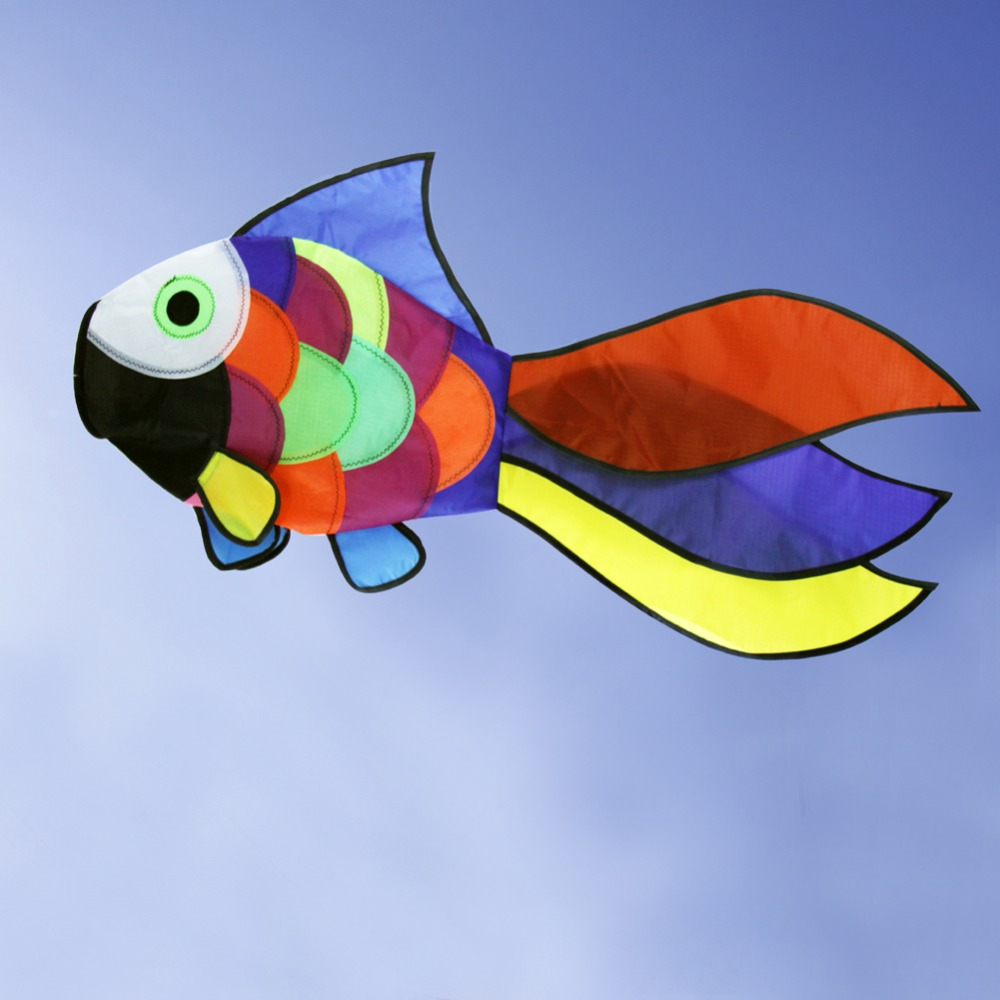 Նոր ծիածան ձկների ուրուր Windsock բացօթյա - Արտաքին զվարճանք և սպորտ - Լուսանկար 3