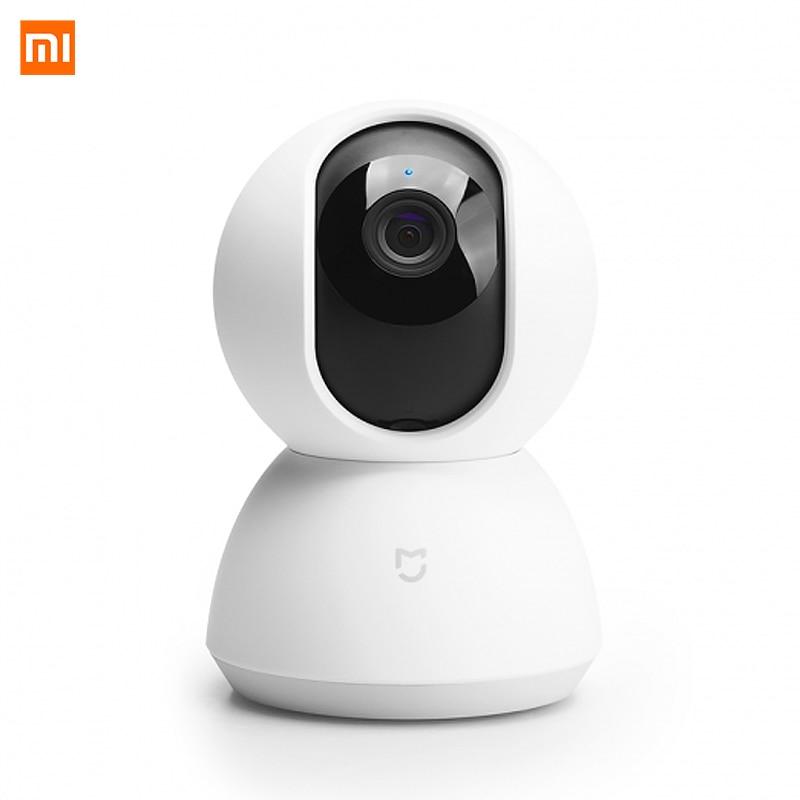2018 Xiao mi 360 caméra vidéo panoramique Version Xioa mi mi jia caméra IP intelligente 1080 P CCTV WiFi Vision nocturne