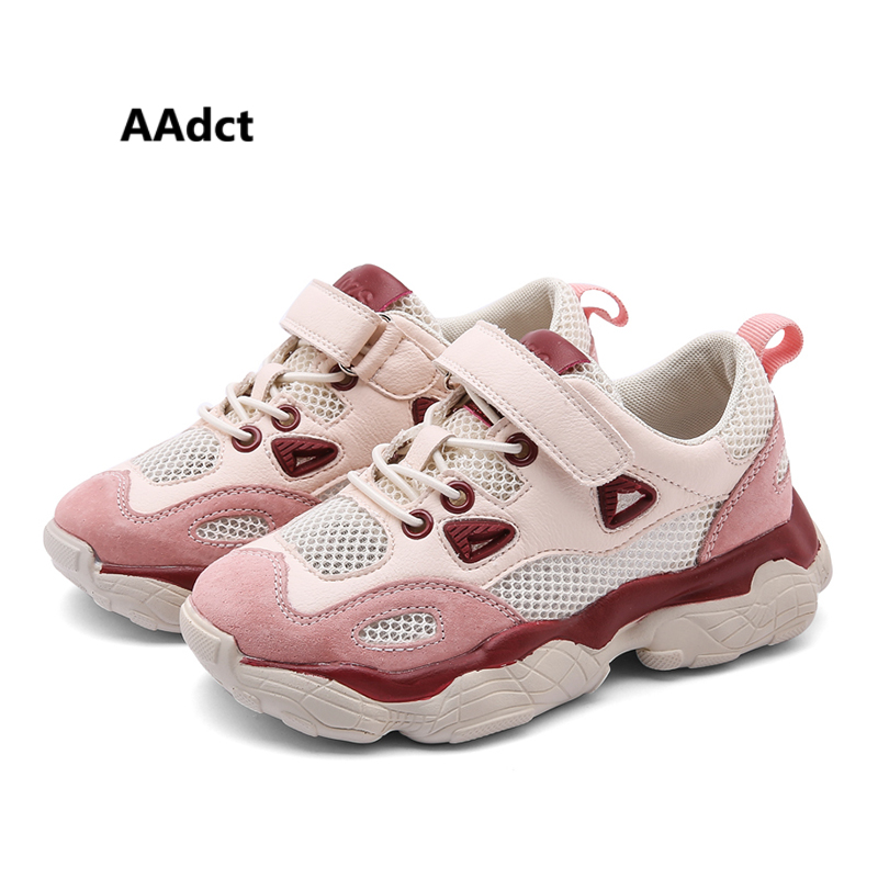 AAdct running sports girls shoes sneakers Brand 2019 new children casual shoes for boys Mesh little kids shoes studentAAdct running sports girls shoes sneakers Brand 2019 new children casual shoes for boys Mesh little kids shoes student