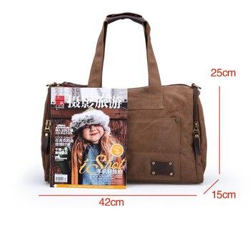 cb87948eb Muzee Travel Bag Large Capacity Men Hand Luggage Travel Duffle Bags ...
