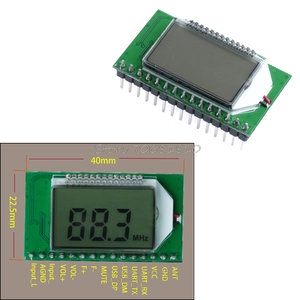 Image 1 - FM Radio Transmitter Module PLL Wireless Digital Microphone Stereo 87 108MHZ 10166