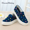 DreamShining New Muffin Heavy-Bottomed Shallow Mouth Of Canvas Shoes Women Shoes Flats Shoes A Pedal Student Flat Loafers