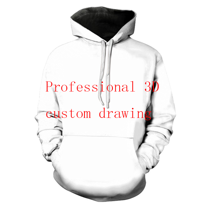 Bzpovb Long Sleeve Pullovers For Men And Women Customized Fashionable Personality Pullovers 3D Digital Printed Couple Pullovers