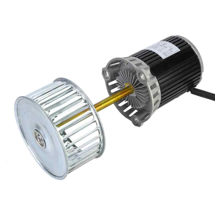 KL-90 220V eje largo Motor con ventilador de refrigeración 90W máquina de bricolaje accesorio del Motor de horno de soldadura por reflujo de la caldera túnel de horno
