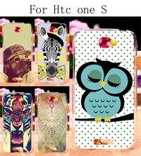Plástico rígido & soft tpu casos de telefone de silicone para htc one s z520e Cobertura G25 DIY Pintado Shell Durável Cão  Tigre  Zebra  Harajuku