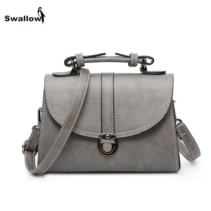 Vintage Nubuck Thread Women Messenger Bags Famous Brand PU Leather Small Shoulder Crossbody Bag Designer Handbag High Quality стоимость