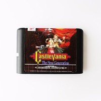 Castlevania The New Generation For Sega Genesis