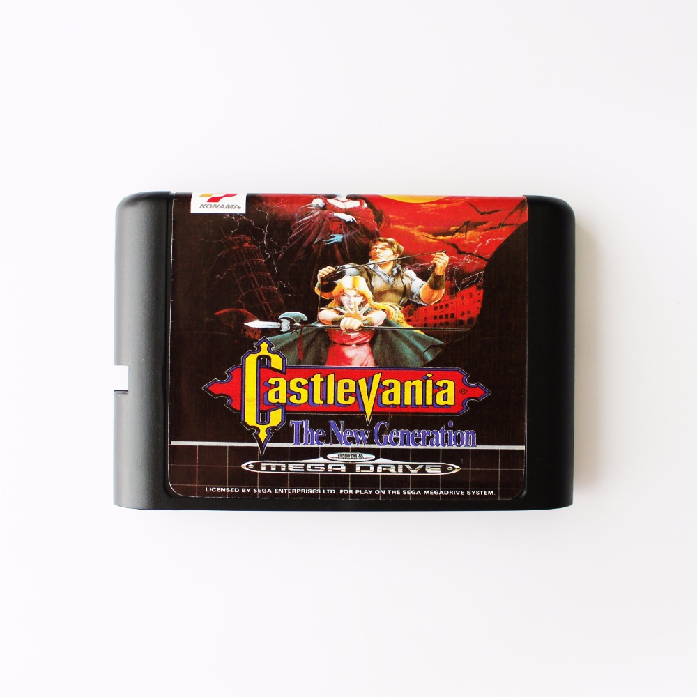 Castlevania The New Generation 16 bit SEGA MD Game Card For Sega Mega Drive For Genesis image
