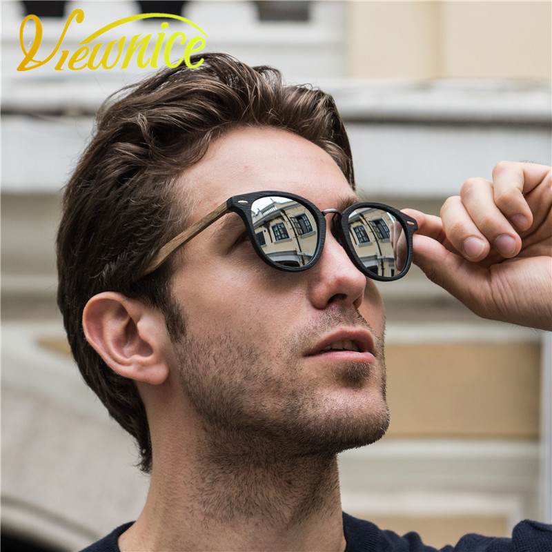 1d8f87495e7 Detail Feedback Questions about Viewnice 2017 oculos de sol masculino  Vintage rivets Polarized Woman sun glasses Man 100% Handmade Wood acetate  Eyewear 5355 ...