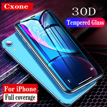 Cxone 0.3mm Full Coverage Tempered Glass For iPhone Xs Max XR 2018 Screen Protector Thin Protective X