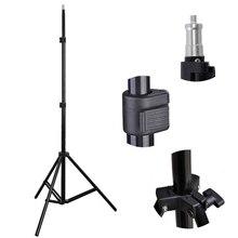 Универсальный Регулируемый 1/4 головы студийный свет вспышки Speedlight зонтик подставка держатель кронштейн штатив 81 см-200 см фотостудия