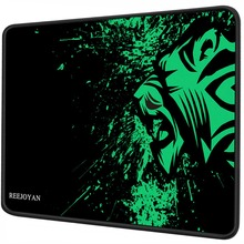REEJOYAN Mouse Pad Stitched Edges Premium-Textured Mat Non-Slip Rubber Base Gaming Mousepad for Home Office