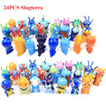 24pcs/set Cute Cartoon Slugterra PVC Action Figures Toys  Dolls Child Toys Free Shipping