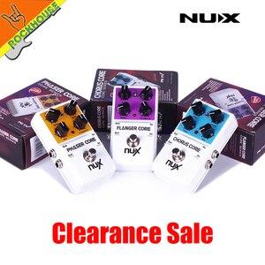 Image 4 - NUX Mod unidad de fuerza coro Core Flanger Core fáser Core pedal de efectos para guitarra envío gratis
