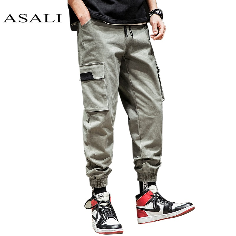 Cargo Pants Men Mens Military Multi Pockets Combat Casual Cotton Loose Long Straight Trousers Army Tactical Sportswear Jogger Novel In Design;