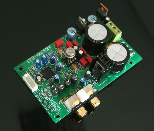 Placa terminado AK4399 DAC decodificador bordo Módulo de entrada I2S para Raspberry Pi