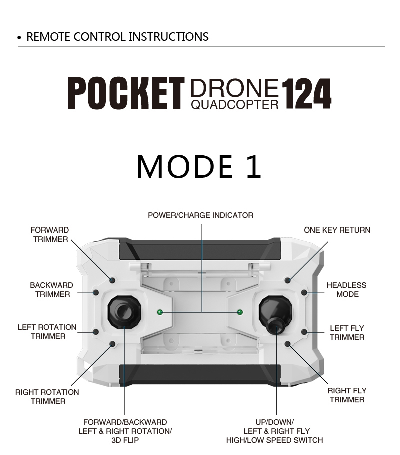 Quadcopter FQ777-124 Dollar RC 16