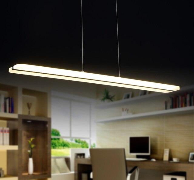 Einfache 38 Watt Kronleuchter Led Leuchten Acryl Suspension Hängeleuchte  Moderne Lustre Home Beleuchtung Dekoration Lampe