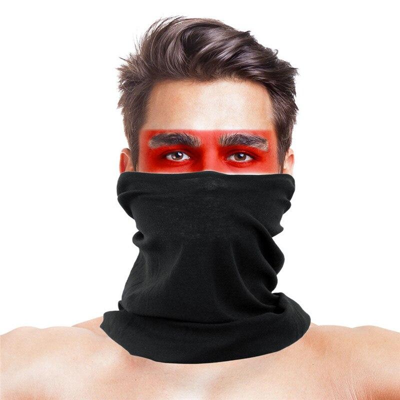 High-Jump Tactical Airsoft Hiking Bandana Women Polyester Neck Warmer Scarf Mask Sun UV Shade Bandana Ciclismo Men Braga Cuello