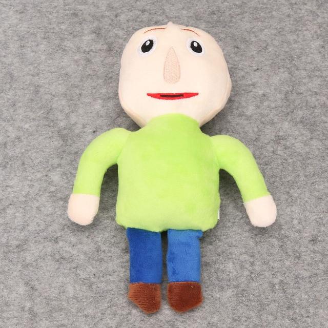 Boys Baldi's Basics in Education and Learning Time Plush Figure Toy Stuffed Doll Kids Xmas