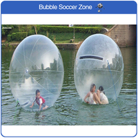 Free shipping 2m 0.8mm PVC Giant Inflatable Water Walking Ball Inflatable Human Humste Ball Plastic Ball Water Rolling Ball