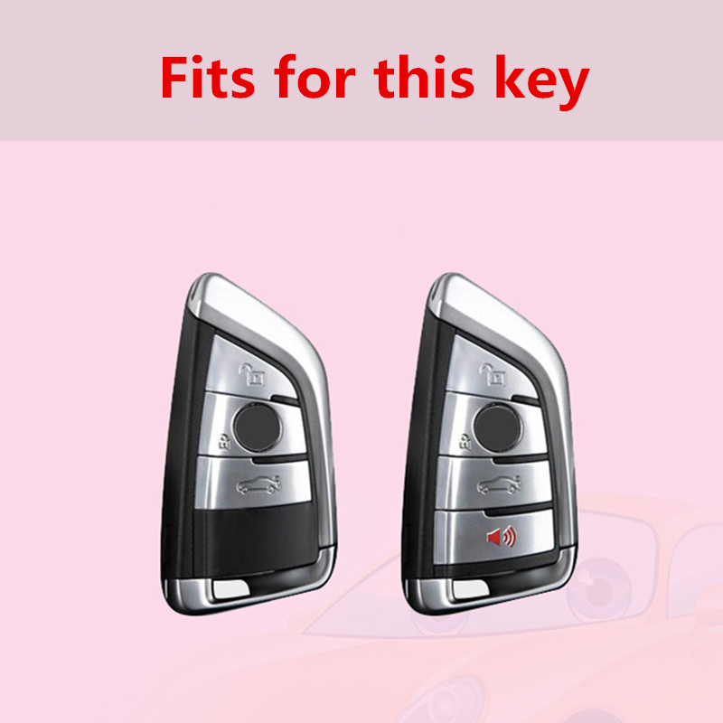 New Quicksand TPU car key cover case set protect for for BMW X5 F15 X6 F16 G30 7 Series G11 X1 F48 F39 Accessories Car Styling in Key Case for Car from Automobiles Motorcycles