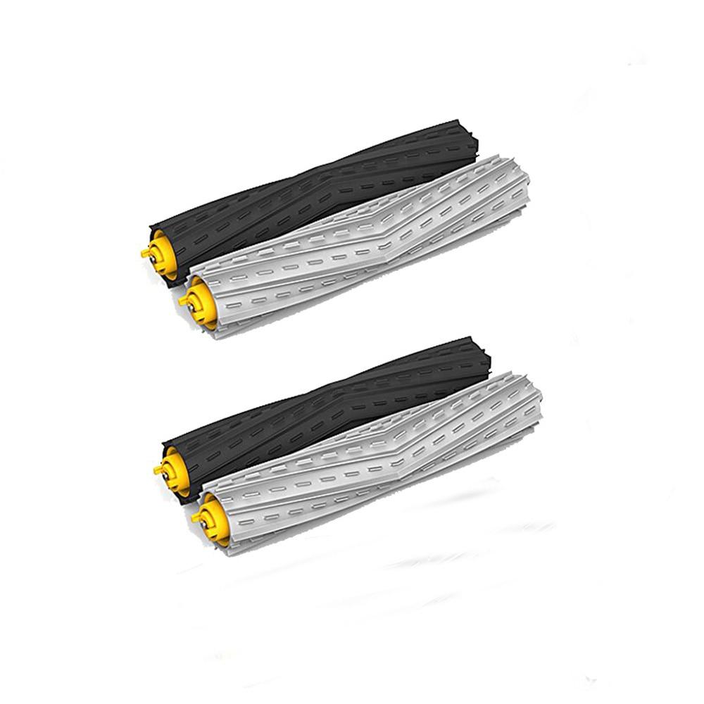 где купить New 2 set Tangle-Free Debris Extractor Brush for iRobot Roomba 800 900 Series 870 880 980 по лучшей цене