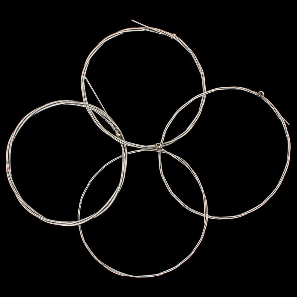 4pcs 990L Electric Bass Guitar String 045-090 Nickel Plated Steel Strings Set Musical Instruments Parts & Accessories rotosound rs66lc bass strings stainless steel