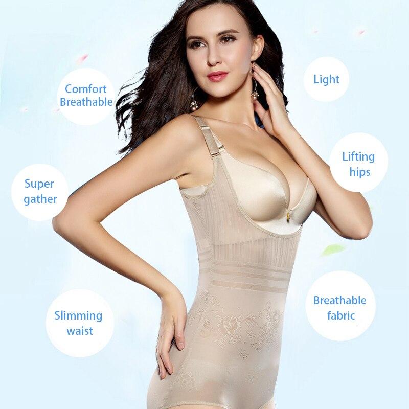 Women's Tummy Control Underbust Slimming Underwear Shapewear Body Shaper Control Waist Cincher Firm Bodysuits 2018 New Fashion 3
