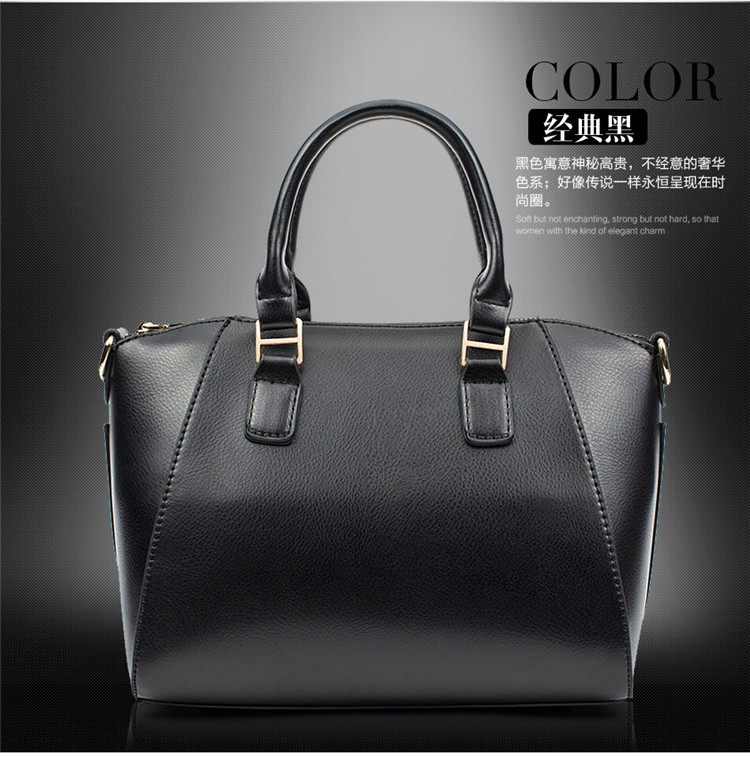 2016 New Arrival French Style Women Tote Bag PU Leather Women Hand Bag Messenger Bag Shipping