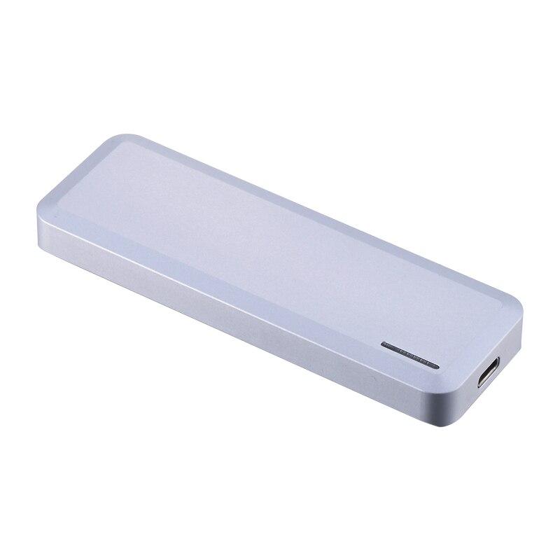 Aluminum M2 NGFF Type C external enclosure NGFF adapter usb3.1(Gen 2 Type C) B or B+M key ssd hdd enclosure