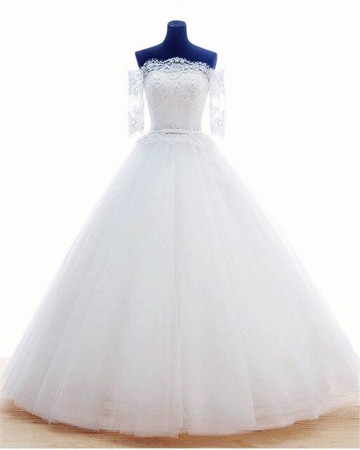Mansa Women Wedding Dress Real Sample Custom Lace Princess Wedding