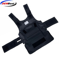 New style No Plate Survival Tactical Vest Security Guard Bulletproof Protecting Clothes Insertable Steel Plate Safety vest
