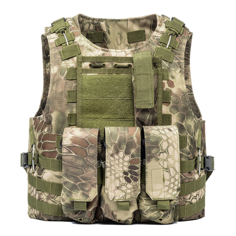 Duty Military Camouflage Molle Gilet Tactical Vests Men Plate Carrier Pockets Airsoft Hunting Fishing Paintball Commuter