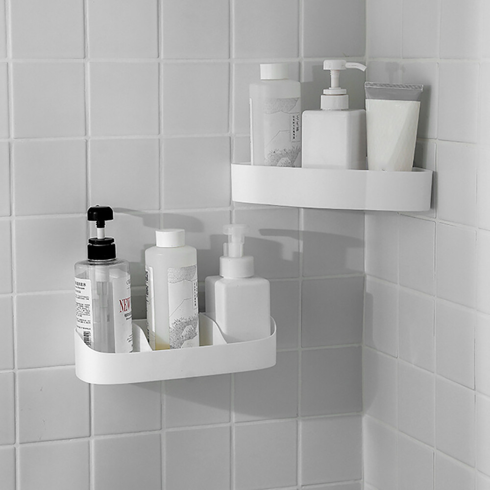 Plastic Bathroom Corner Storage Rack Rack Organizer Shower